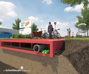 Dutch City have announced their plans to swap asphalt with plastic for their roads