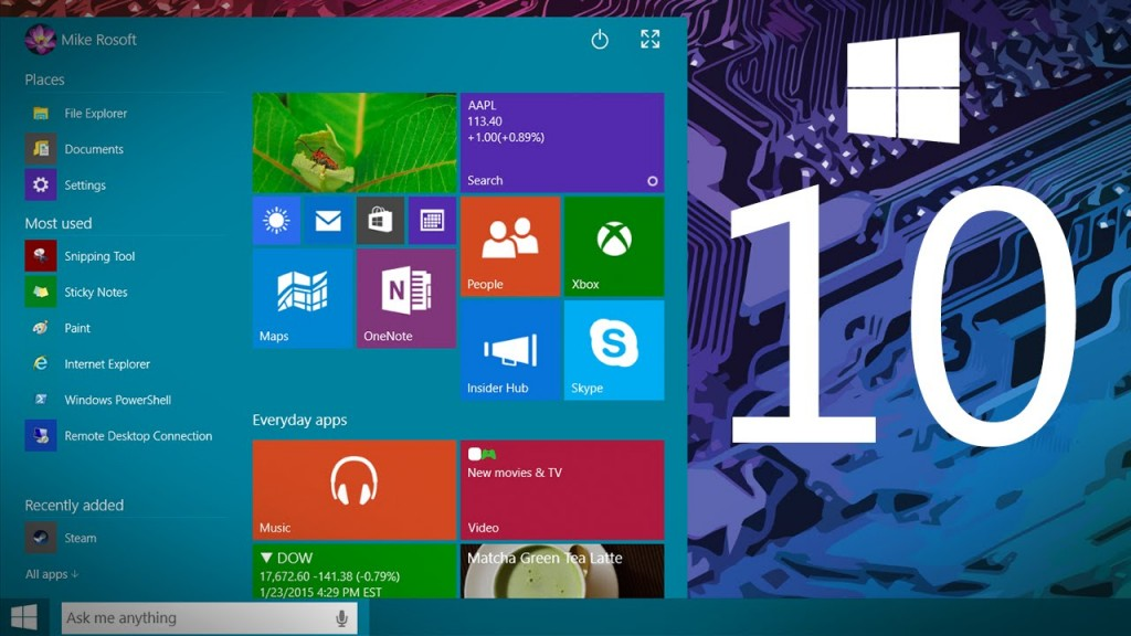 Windows 10: Preview & Latest Features !!, Seekyt