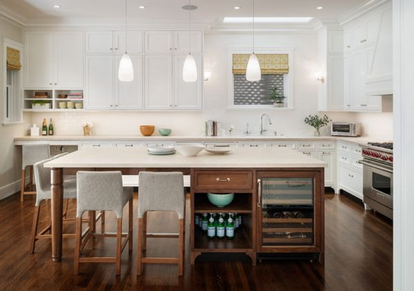 7 Ways to Rethink Kitchen Islands
