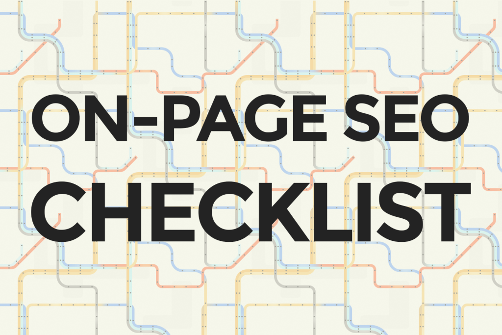 5 On-Page SEO Checks That Are Necessary for Every Web Page, Seekyt
