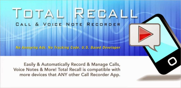 A Total Recall-Only Choice for Recording Calls Accomplishment Successfully