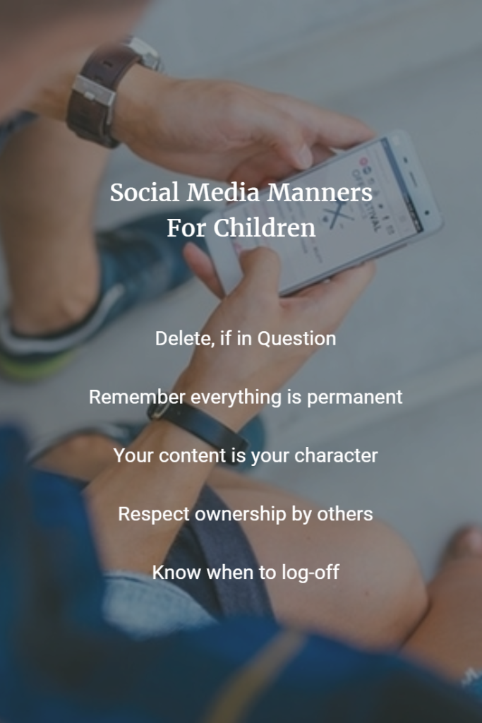 Social Media Manners for Children, Seekyt